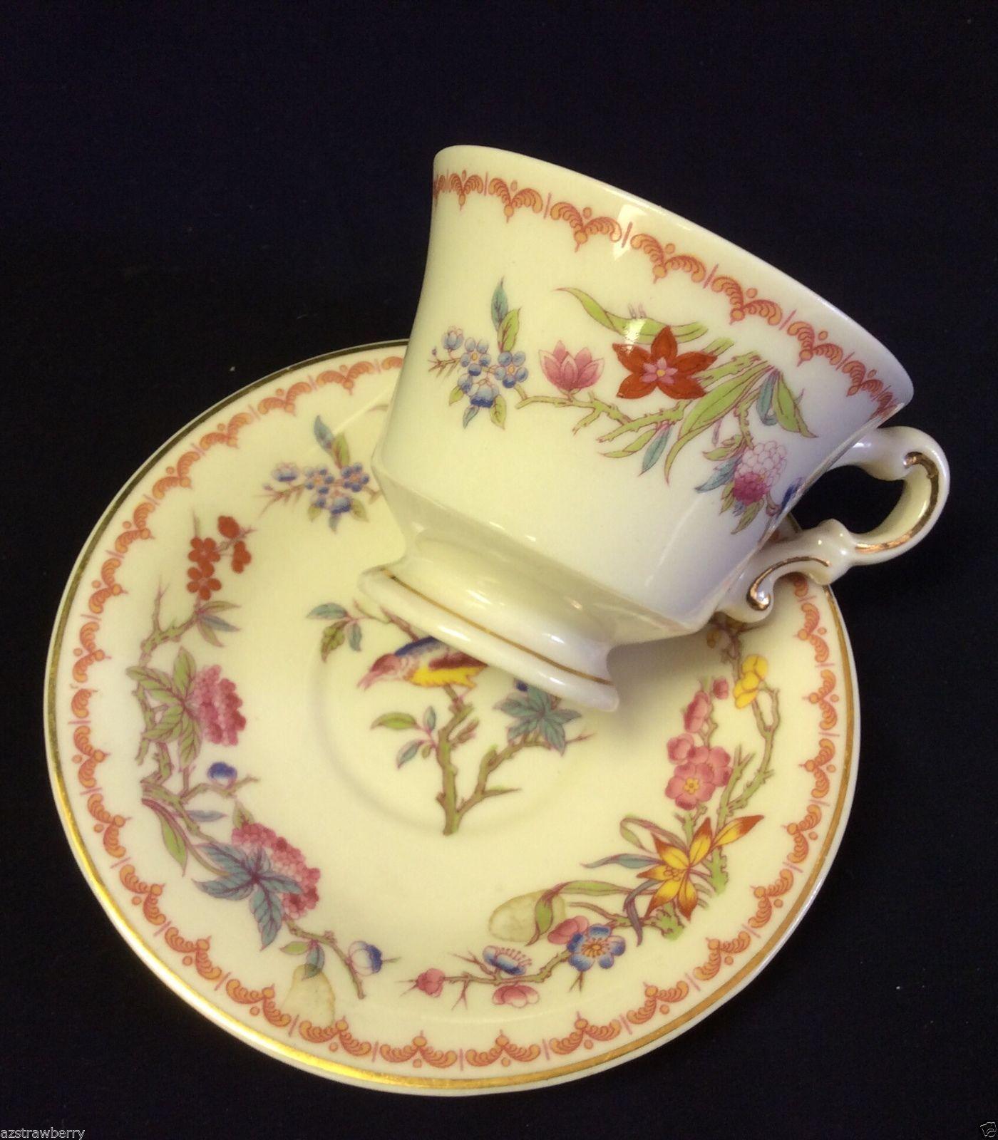 VTG Syracuse Old Ivory Porcelain China Demitasse Cup