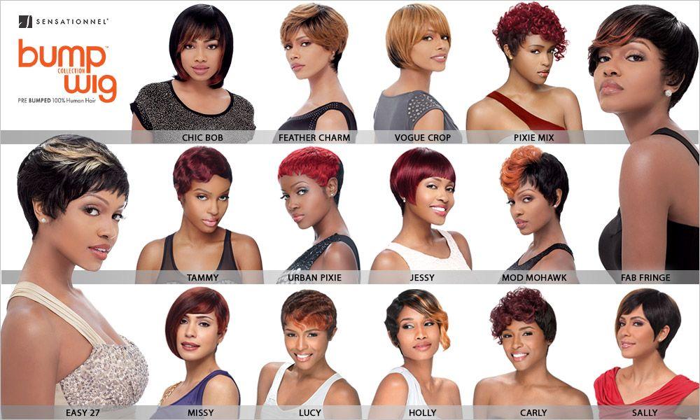 Sensationnel Human Hair Wig Premium Now Bump Fab Fringe ...