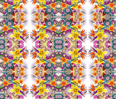 blooming_paradise_ fabric by gigimoll on Spoonflower - custom fabric
