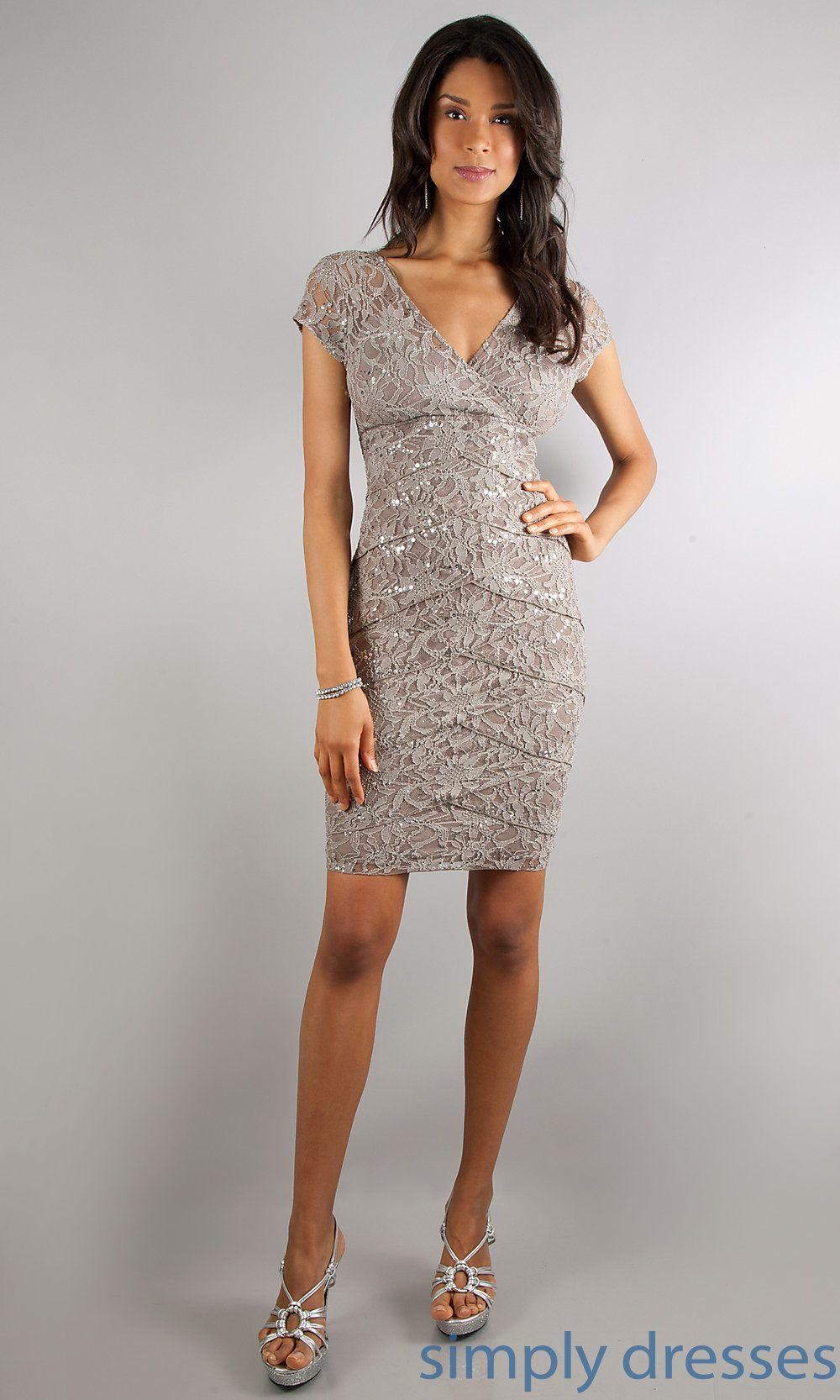 Semi Formal Grey Dress