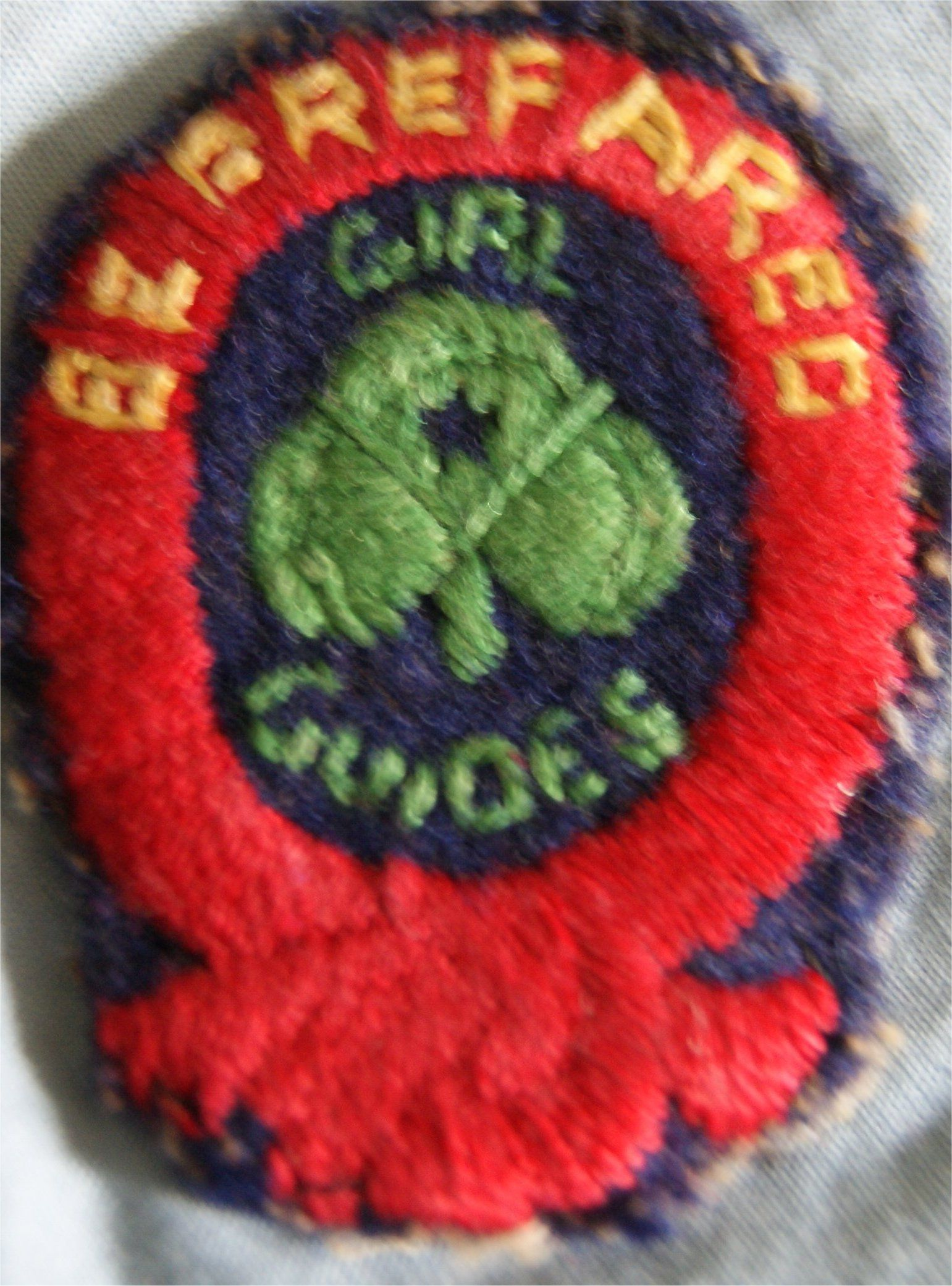 First Class Cloth Badge