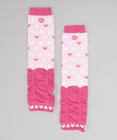 Take a look at this Pink Tiny Dancer Leg Warmers by BabyLegs on #zulily today!