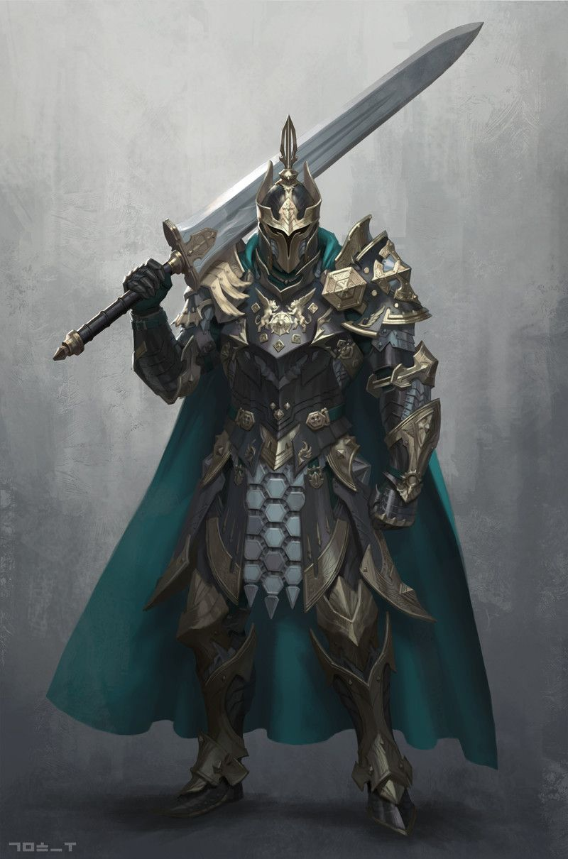 ArtStation Medieval Knight 1, Hyungwoo Kim Fantasy