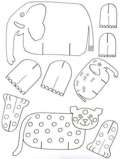schauen sie mal wie einfach kann man tiere aus papier mit. Black Bedroom Furniture Sets. Home Design Ideas