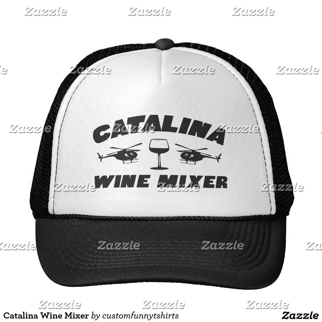Catalina wine mixer hat