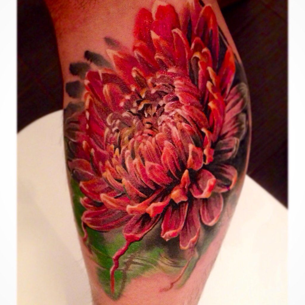 Chrysanthemum done by dmitry vision bloodlines gallery