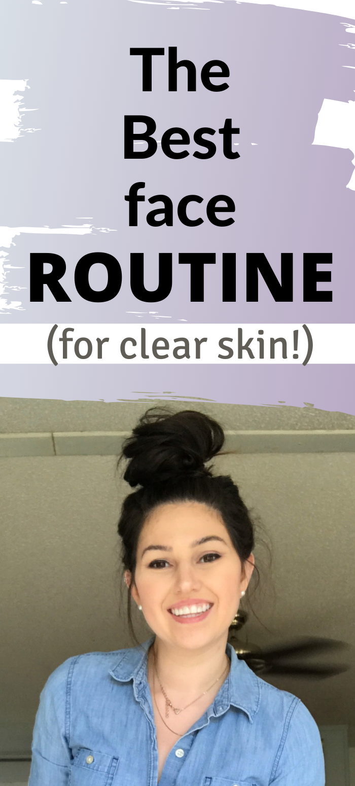 Skin Care In 2020 Face Routine Face Skin Care Routine Oily Skin Face Care