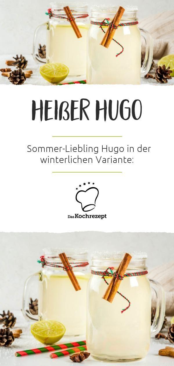 Heißer Hugo #simplecocktail