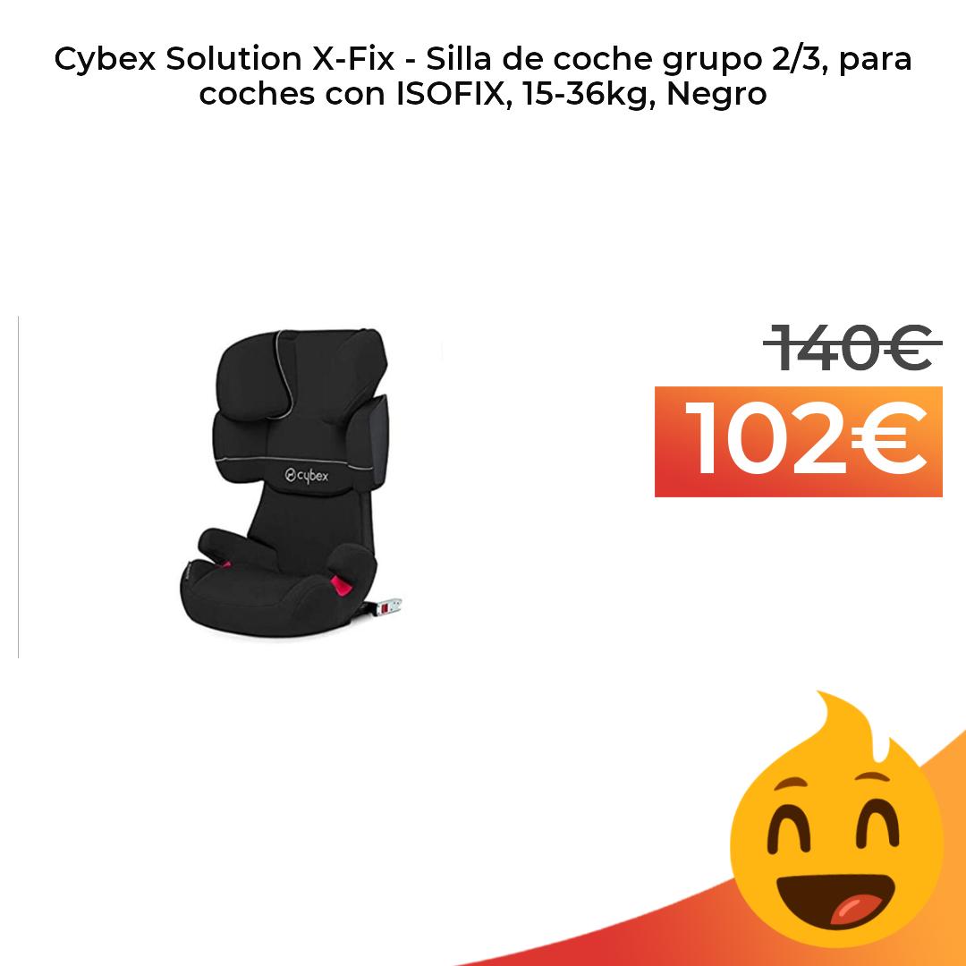 Cybex Solution X Fix Silla De Coche Grupo 2 3 Para Coches Con Isofix Sillas De Coche Coches Sillas