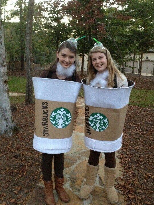 Coolest Starbucks Coffee Cup Costume Idea | Starbucks