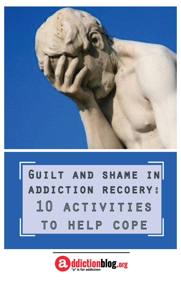 worksheet Shame And Addiction Worksheets guilt and shame in addiction recovery 10 activities to help cope what is a feeling of responsibility or remorse for some offense