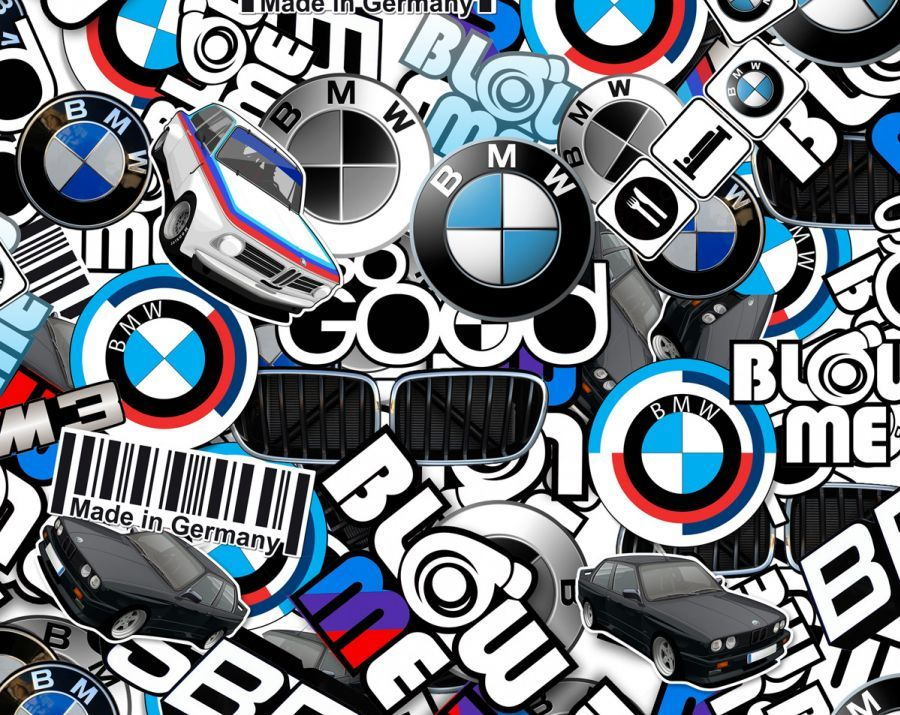 Bmw sticker bomb google search