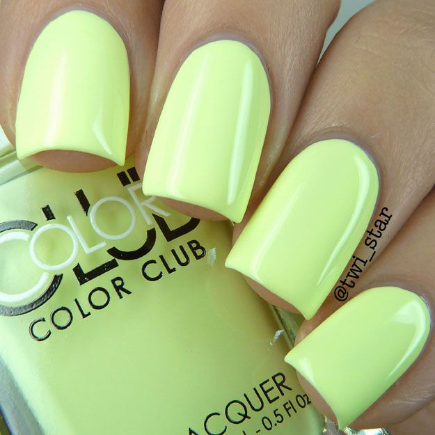 Color Club Poptastic Pastel Neon Collection Swatch Review - Spring 2015