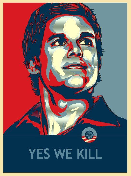 obama style poster dexter poster art pinterest dexter hope