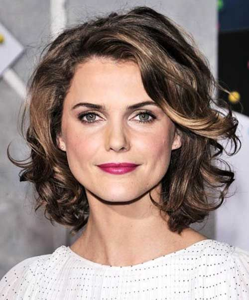 Short Curly Hairstyles For Round Faces Alluring 15 Popular Short Curly Hairstyles For Round Faces  Curly Hairstyles