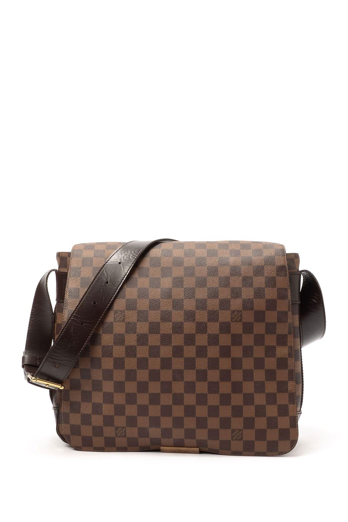 7268d4eb8ac4 Vintage Louis Vuitton Leather Bastille Messenger Bag