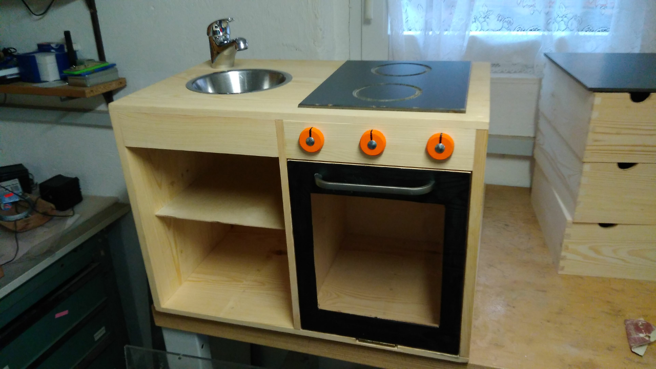 Kinderspielküche Bauanleitung zum selber bauen | 1-2-do.com ...