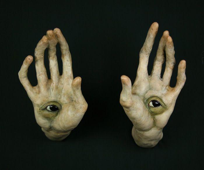 Scott Radke Untitled Hands With Eyes Boku No Hero Academia