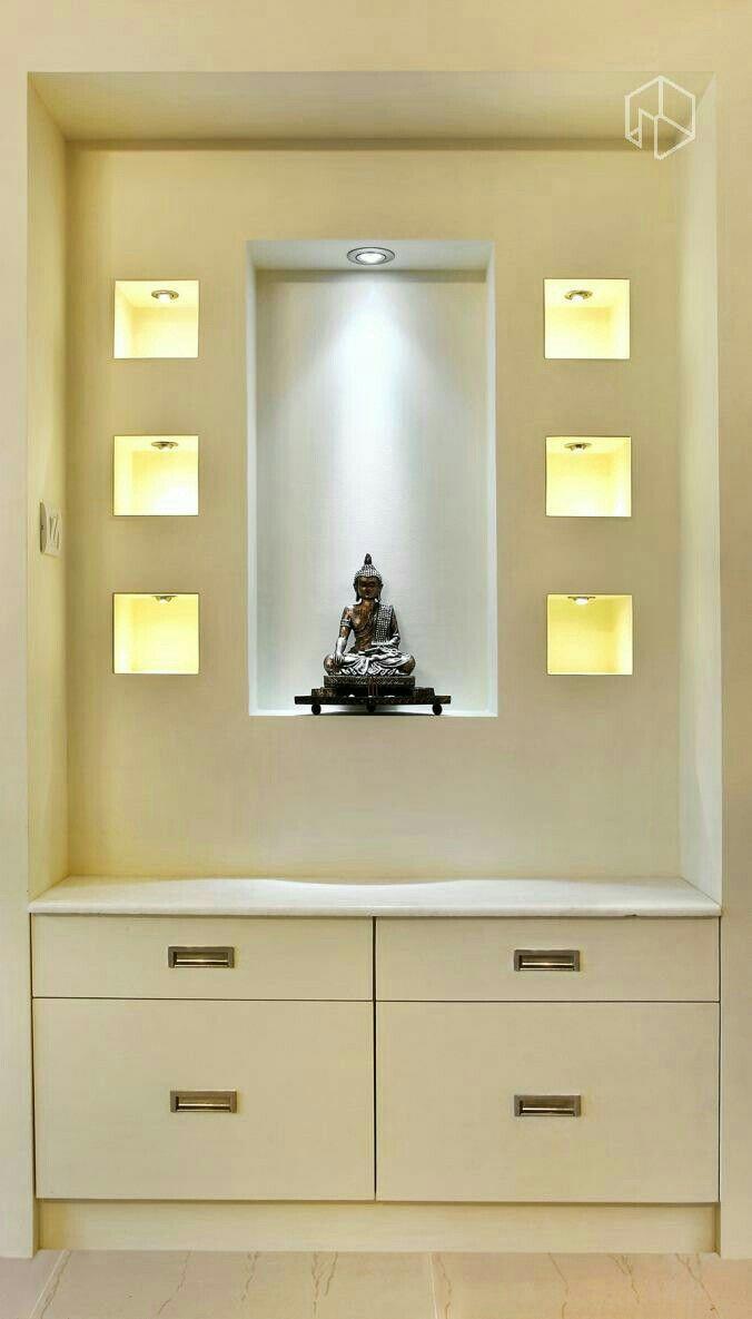 Hindu Prayer Room Design: Pin By Abanti Mustafi On Puja Area
