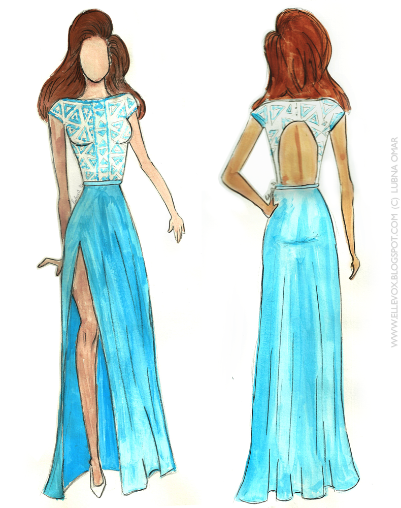 Simple Prom Dress Sketches Google Search I Love To Draw
