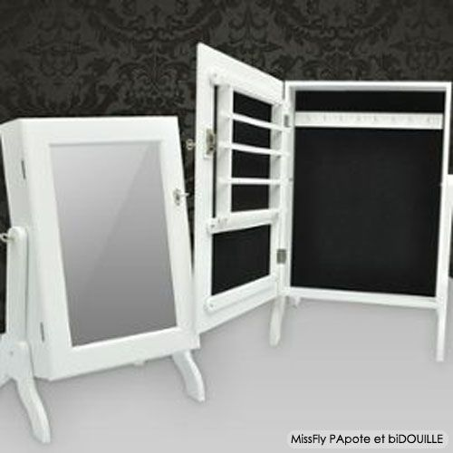 Fabrication d\'une mini-armoire à bijoux | MissFly PApote et ...