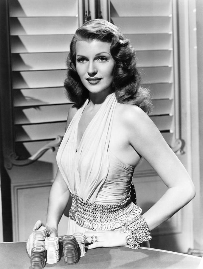 Gilda, Rita Hayworth, 1946 by Everett #classicactresses