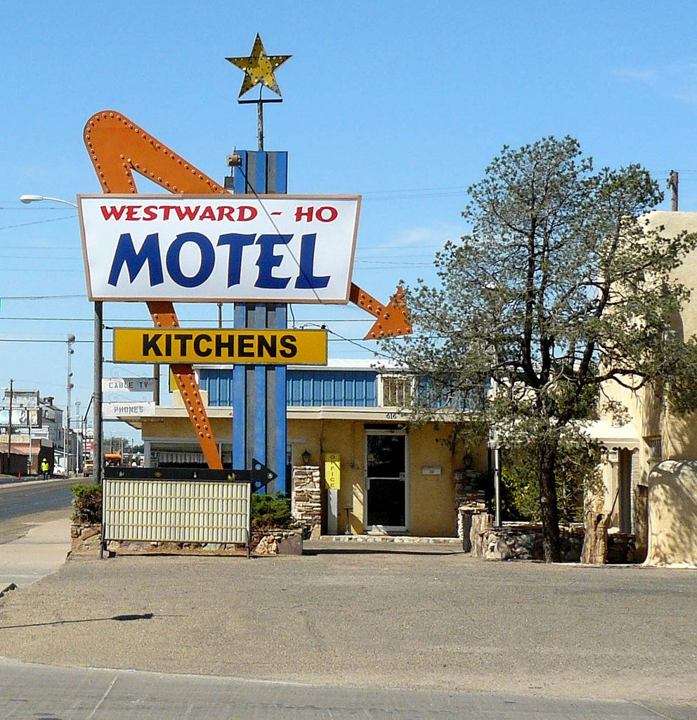 Westward Ho Motel Clovis New Mexico Not Exactly A Beautiful Place But It Reminds Me Of Childhood