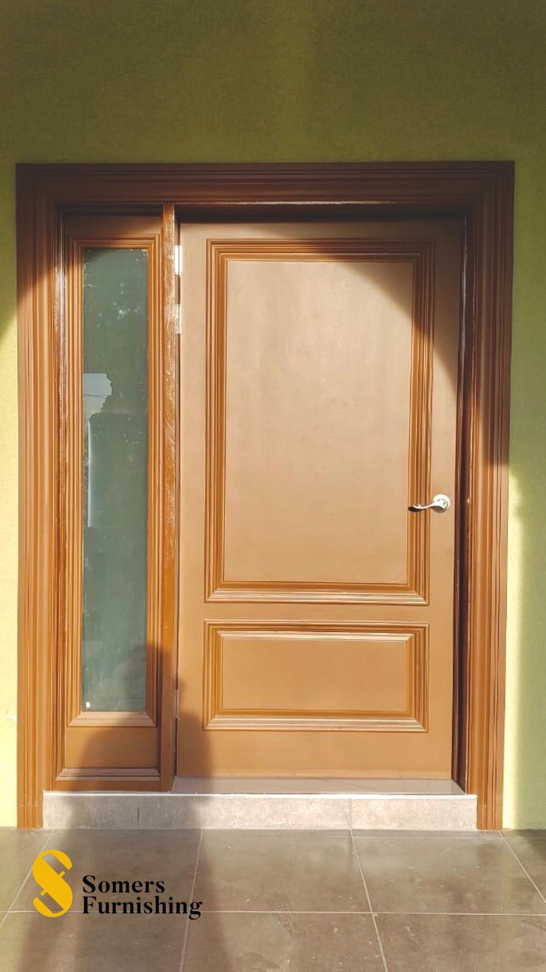 Wooden Entrance Door In 2020 Wooden Door Entrance Door Design Wooden Doors