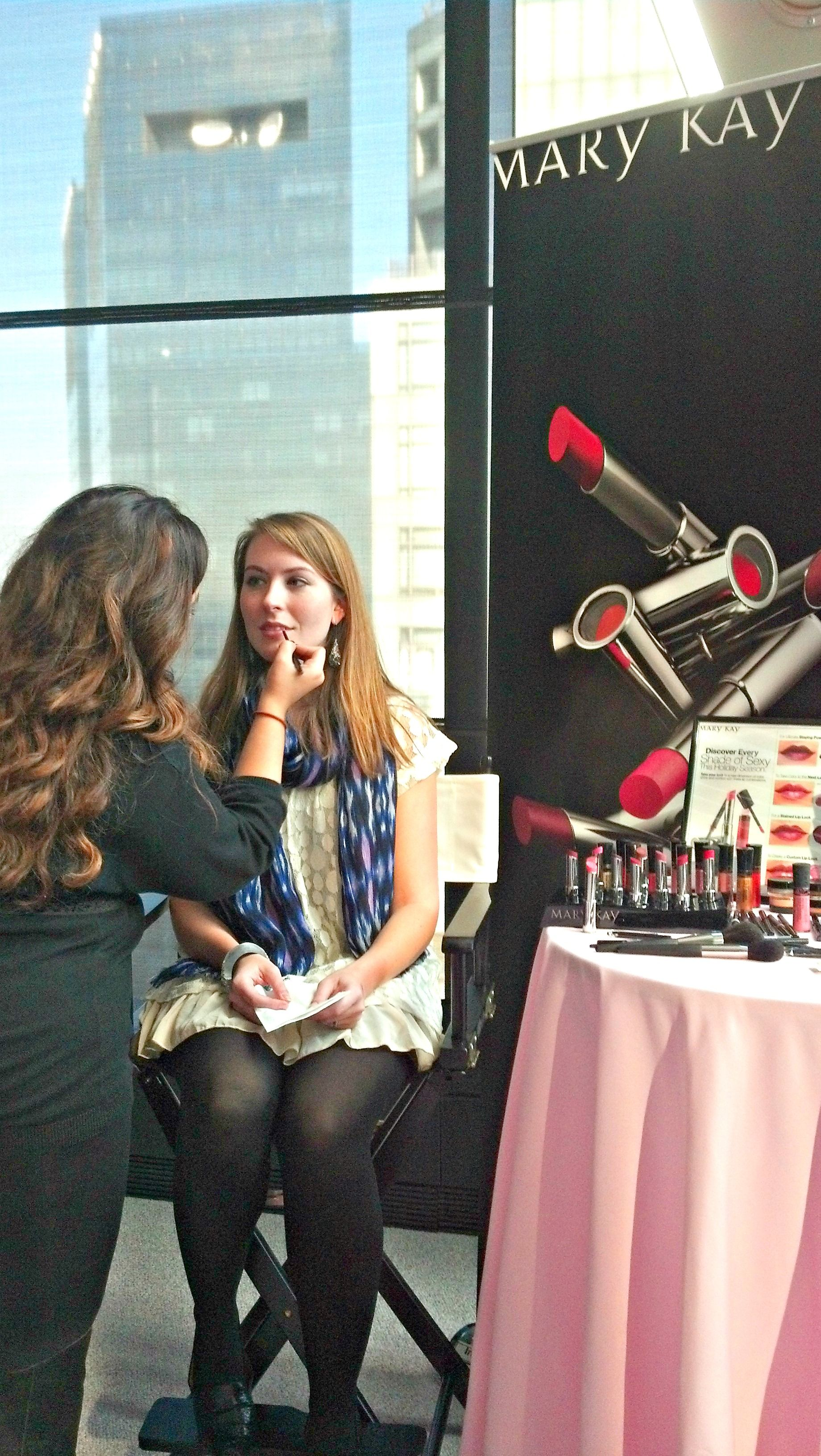 Kelly Phillips Badall Senior Editor Of Country Living Magazine At The Mary Kay True Dimensions Lipstick Launch Event
