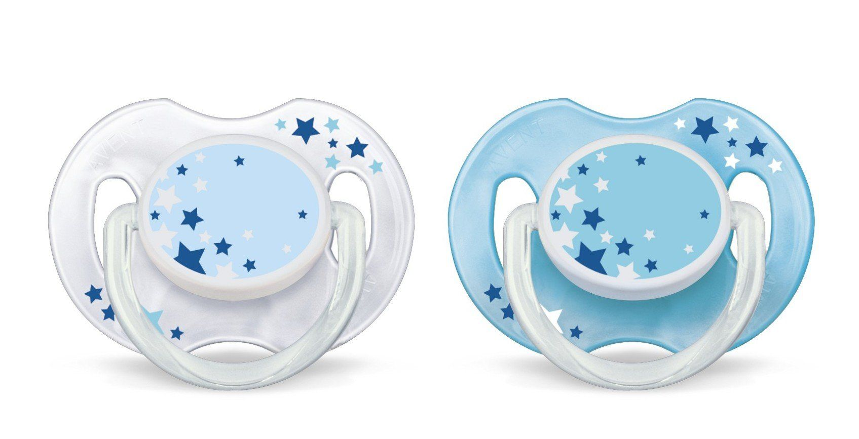 Philips AVENT SCF176//18 Glow in the Dark Night-Time Soother 0-6 Months