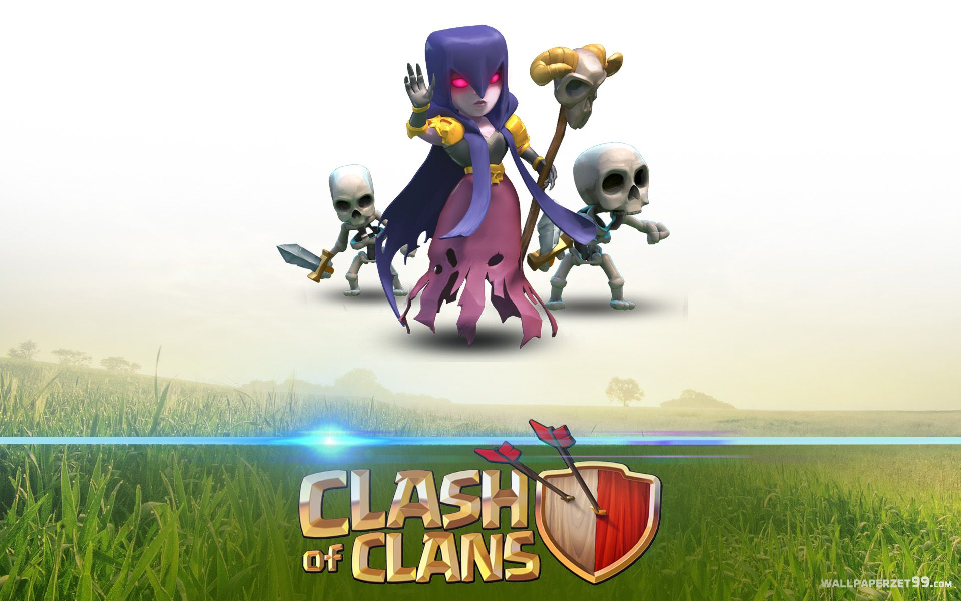 clash of clans dark characters witch wallpaper クラクラ clash of