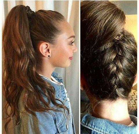 Maddie Ziegler Hairstyle For Nyfw Pin Credit Dm Fandom