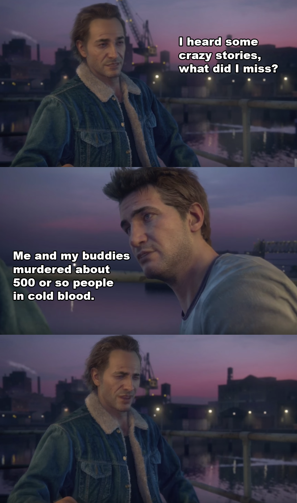 What I thought when I saw the new Uncharted 4 trailer