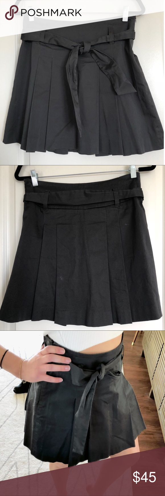 9f046c8546 KOOKAI Grey Pleated Mini Skirt 36 M KOOKAI Grey Pleated Mini Skirt 36 M