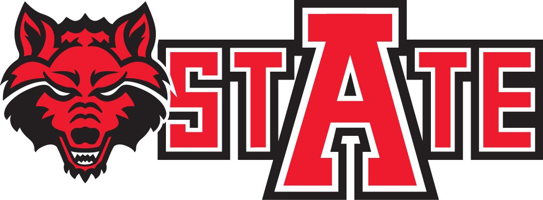 Arkansas State Red Wolves Alternate Logo Red Wolf Arkansas State Arkansas State University