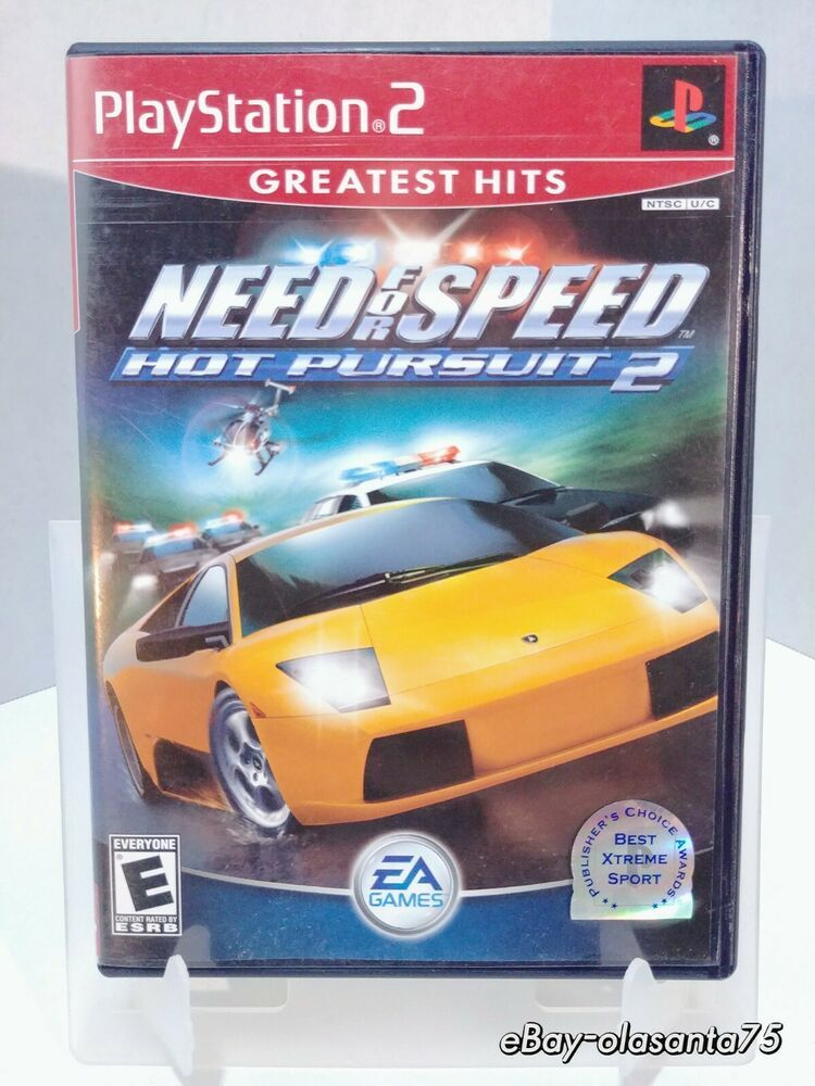 Need For Speed Hot Pursuit 2 Sony Playstation 2 2002 Ps2 Playstation Sony Playstation Need For Speed