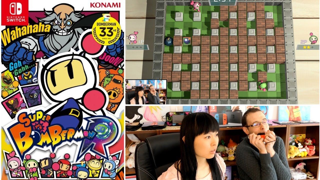 NINTENDO SWITCH #8 | Super Bomberman R Partie #1 | Gameplay à 2 - from #rosalys at www.rosalys.net - work licensed under Creative Commons Attribution-Noncommercial