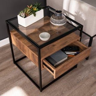 Overstock Com Online Shopping Bedding Furniture Electronics Jewelry Clothing More Wood End Tables Sofa End Tables Metal Furniture Design Wood and iron end table