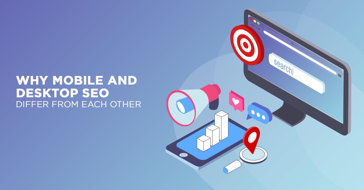 Mobile SEO Versus Desktop SEO Seo, Digital marketing, Mobile