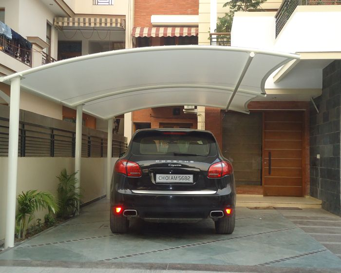 The Shade Studio Is A Multi Foreign Brand Studio In Chandigarh We Have A Great Range Of Stylish Canopies Party Carport Designs Parking Design Car Porch Design