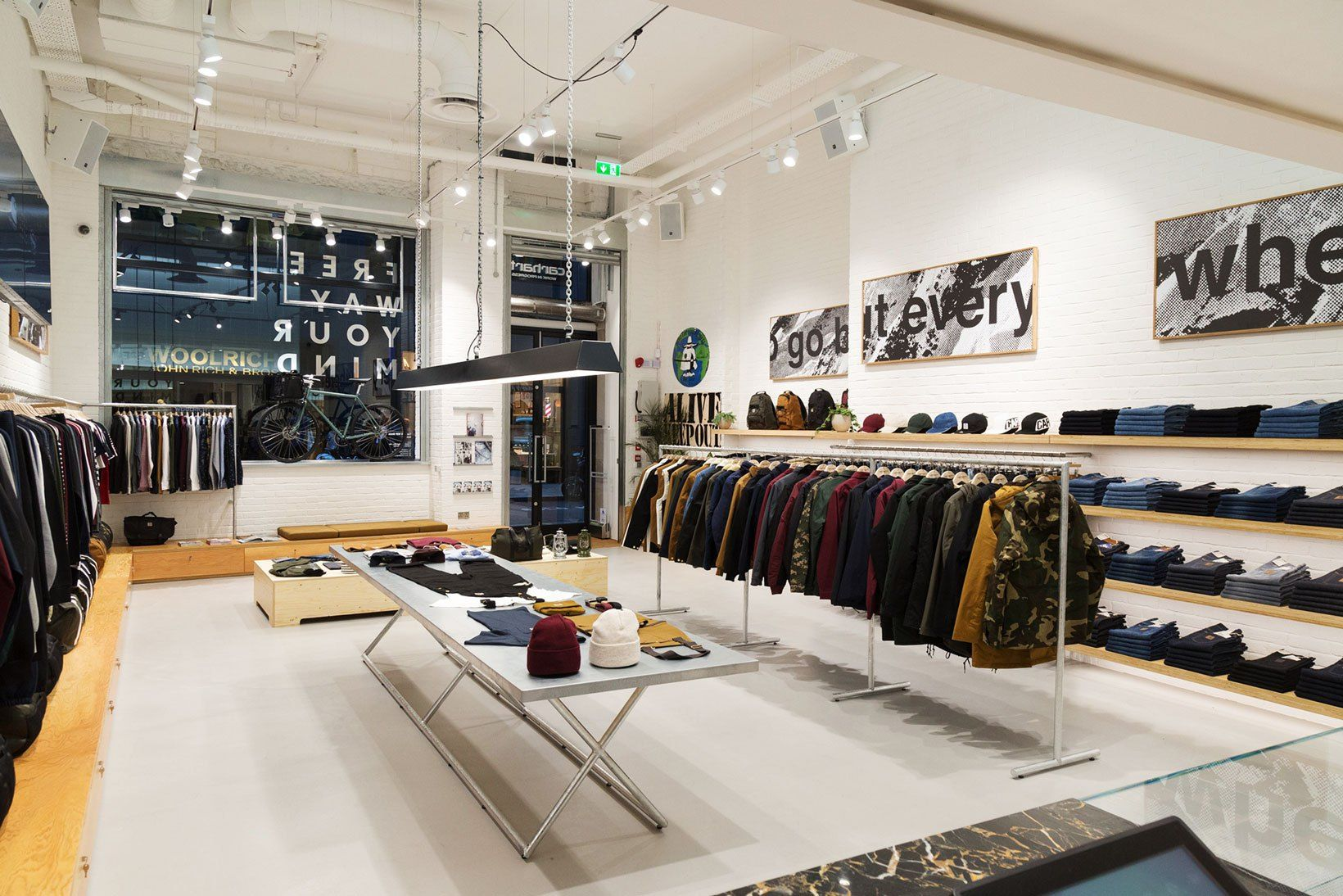 7f8d01cc67 Take a Look at the Carhartt WIP Store in London Before It Opens carhartt uk  store