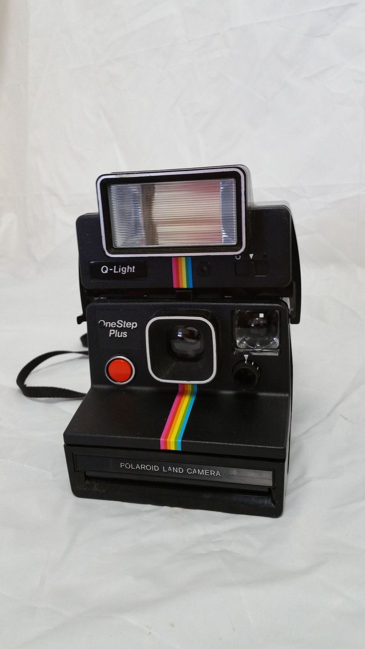 polaroid one step plus instant camera w q light includes manuals rh pinterest com One Step Polaroid Instant Film Polaroid One Step History