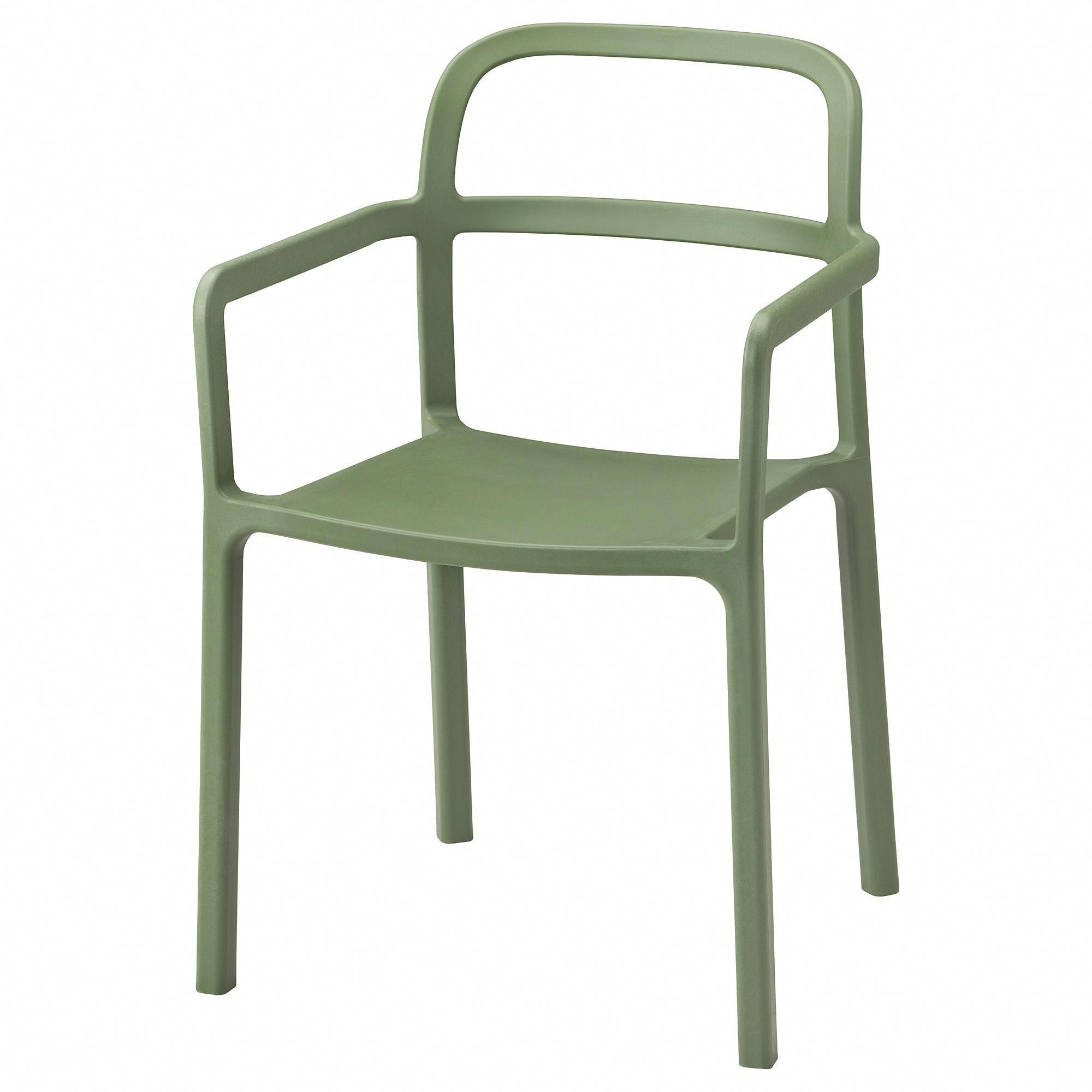 Ikea ypperlig armchair in outdoor green ikeagardenfurniture