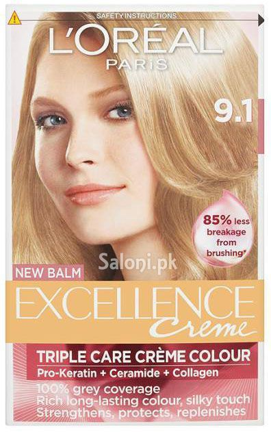 L Oreal Paris Excellence Creme 9 1 Blonde Loreal Paris Loreal