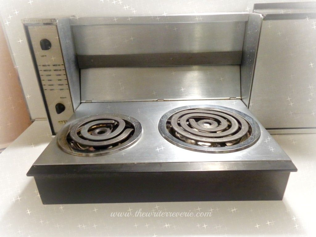 Retro Fold Down Electric Stove Top Burners Gave The Mid 20th Century Homemaker Extra