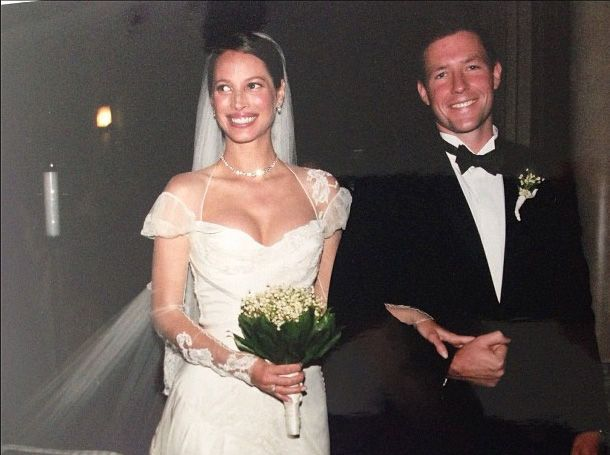 Image result for christy turlington wedding