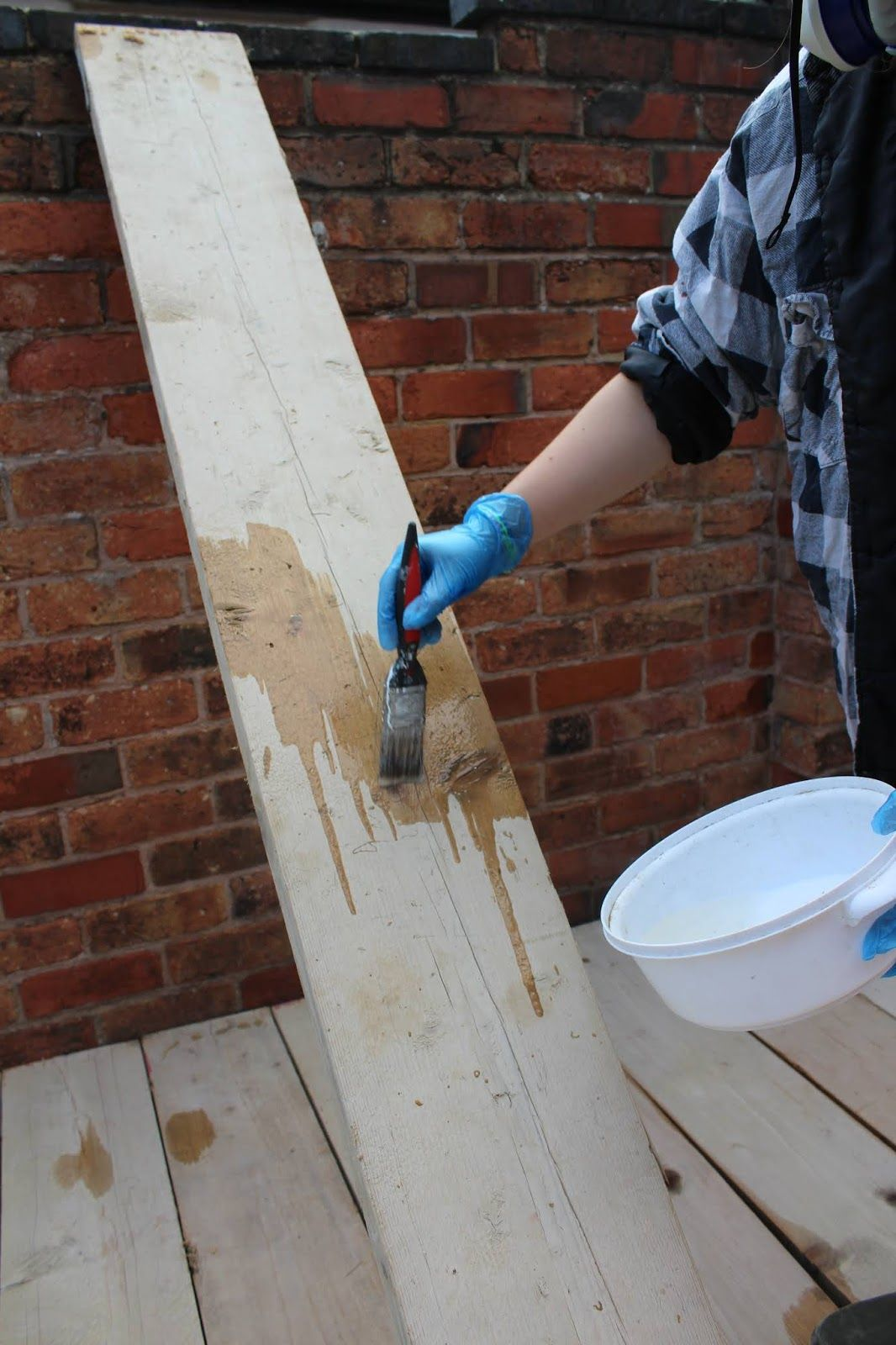 Diy how to build decking with scaffold boards building a