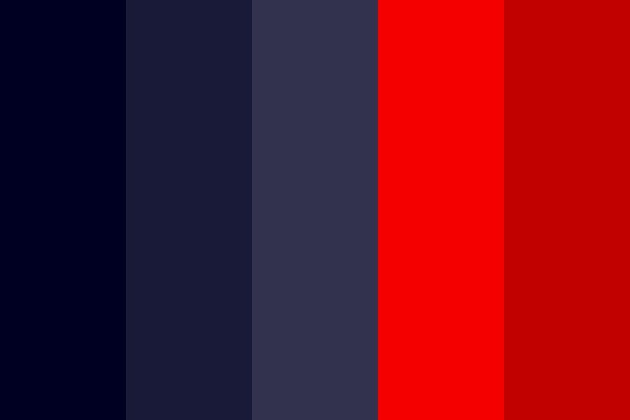 Blue Red Combination Color Palette. #colorpalettes # ...