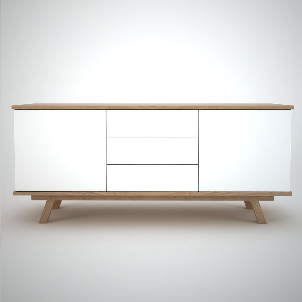 Ottawa Sideboard (2+3) White - Join Furniture | Sideboards ...