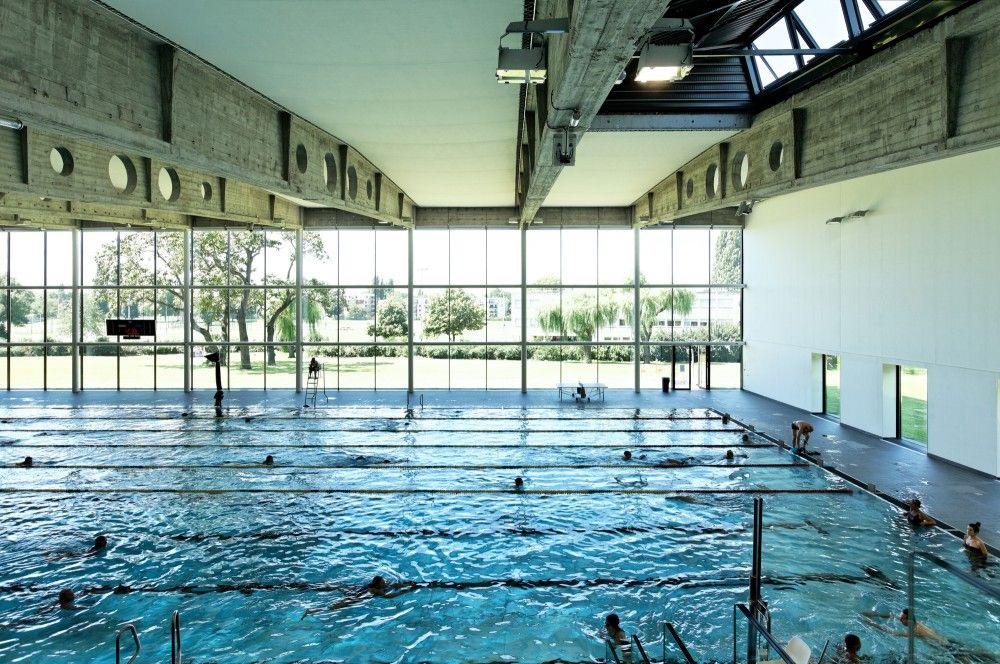 Gallery Of Swimming Pool Kibitzenau Dietmar Feichtinger